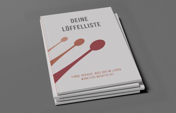 Buchdesign – Deine Löffelliste